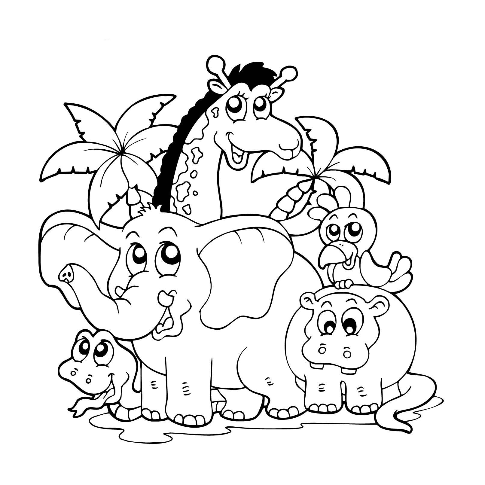 Dzikie Zwierzeta Ksiazki Dla Dzieci Wydawnictwo Dla Dzieci Md