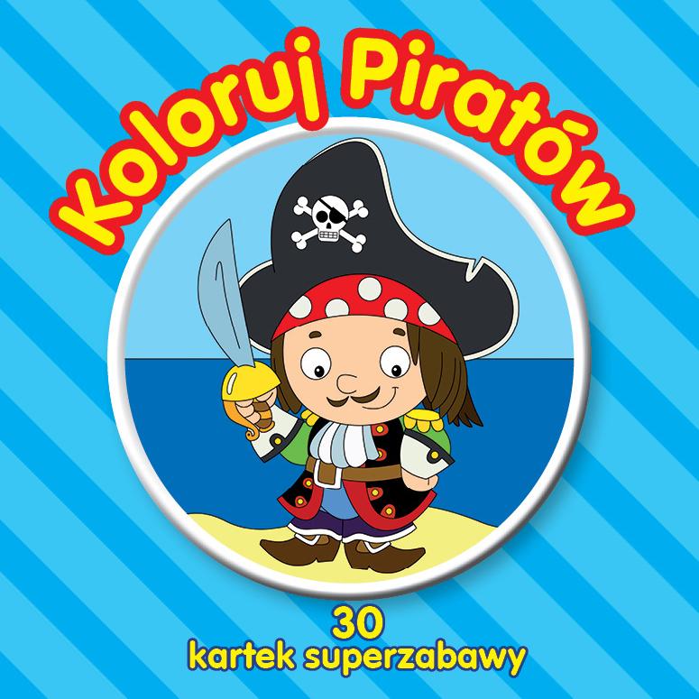 Koloruj piratów