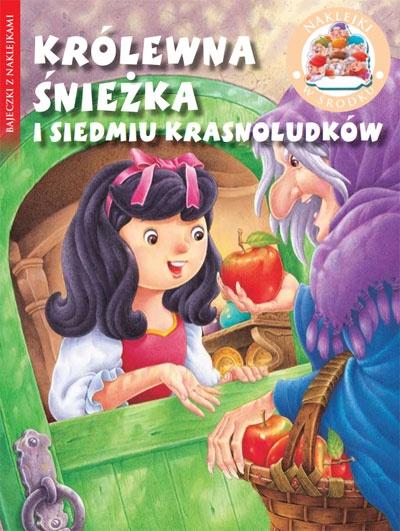 Królewna Œnieżka i Siedmiu Krasnoludków - Bajeczki z naklejkami