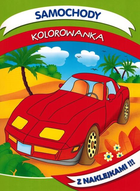 Samochody - kolorowanka