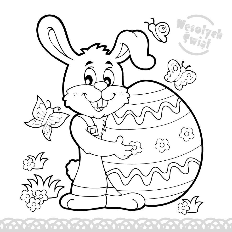 Najbardziej Popularny Kolorowanki Na Wielkanoc Najlepsze